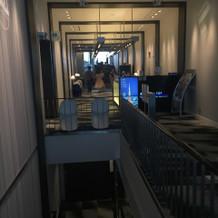 チャペルの反対側(展望室入り口)