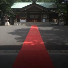 ゴールの神社