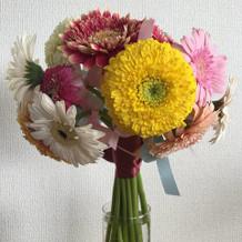 お花のサプライズは嬉しかったです