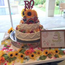 デザインしたケーキを素敵に再現!