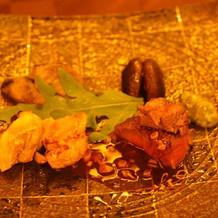 国産牛フィレ肉と地鶏のロースト