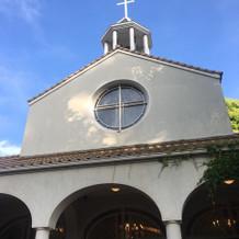 教会で式ができるのも魅力だと思います。