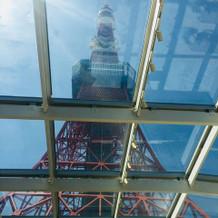 天窓から東京タワー