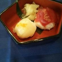 寿司(試食会時に撮影)