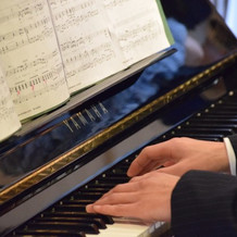 ピアノ演奏にも対応して頂きました。