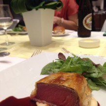 お肉、すごく美味しかったです!