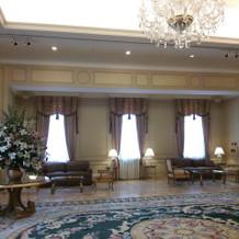 チャペルの手前の部屋