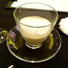 神戸にて試食会。スープ分(上に同じ)