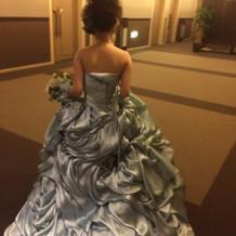 シンデレラみたいなドレスです!