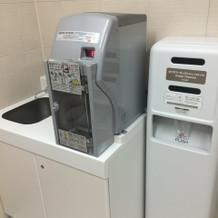 授乳室に給湯設備あり