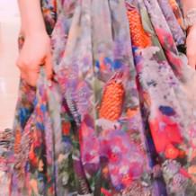 蜷川実花さんのドレスが良かったです。