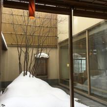 ホテルの中の和食屋さん