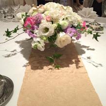 お花がゴージャス