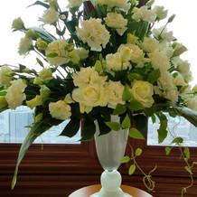 チャペル花