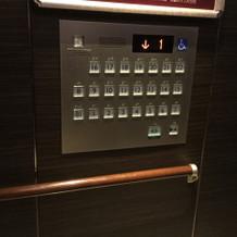 エレベーターもバリアフリー