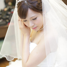 花嫁さん定番カチューシャ