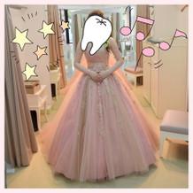 ヒトメボレしたカラードレス