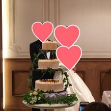 ケーキはこんな感じでした
