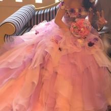 篠田麻里子さんのドレスです!
