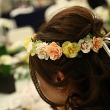花冠はインターネットで購入