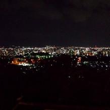 スカイデッキから見た夜景