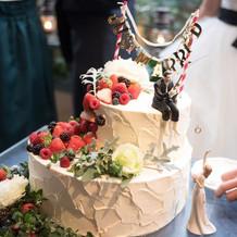理想通りの可愛いケーキ