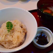 高級魚のどぐろの炊き込みご飯