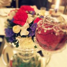 お花が鮮やか