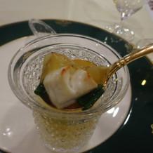 鯛と昆布のスープ