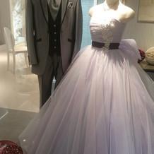 飾ってあるドレス