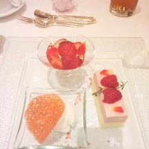 デザートも全部美味しかったです。