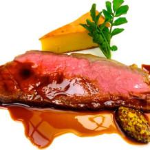 お肉とソースがマッチして美味しかったです