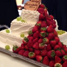 期待していたケーキ