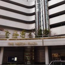挙式会場が入っている建物外観