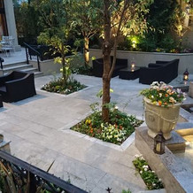 大人っぽい雰囲気のお庭です!