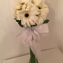 一番安い花束でこのくらいです。