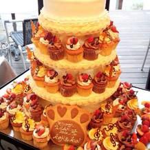 オリジナルのケーキが素敵でした!!!