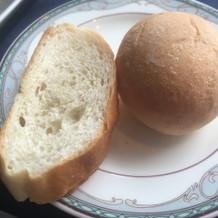 パン 何度もおかわりしました