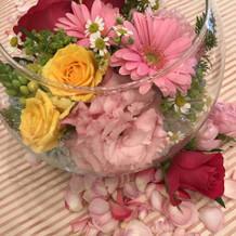 可愛らしいお花でした