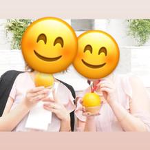 オレンジのドリンク