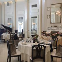 ビクトリアハウス、披露宴会場。