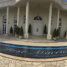 ホワイトハウス、入口。