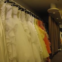 サロン ドレスもたくさんあります