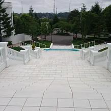 大階段 上からのショット