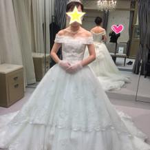 桂由美のウェディングドレス