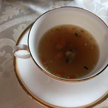 コンソメスープです。