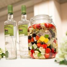 果実酒作りのイメージです