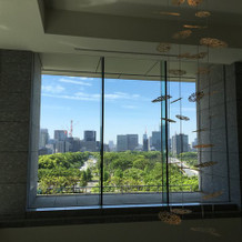 エレベーター前から見える景色です。
