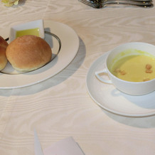 パン&コーンスープ