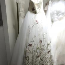 ウェディングドレスが可愛い!